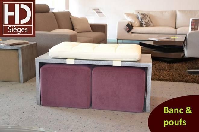 canap d 39 angle honfleur avec bancs fabricant de canap en cuir sur mesure mont de marsan h. Black Bedroom Furniture Sets. Home Design Ideas