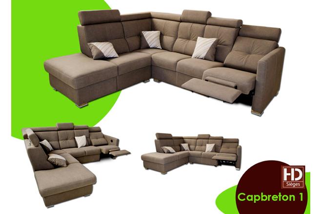 canap d 39 angle capbreton fabricant de canap en cuir sur mesure mont de marsan h d sieges. Black Bedroom Furniture Sets. Home Design Ideas