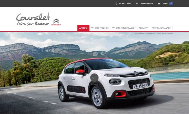 Garage citroen couralet vente auto neuves et occasions for Garage citroen montlouis sur loire